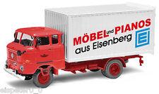 """Busch 95115, Espewe: w50l Mk """"mobilier + pianos Eisenberg"""", h0 modèle de véhicule 1:87"""