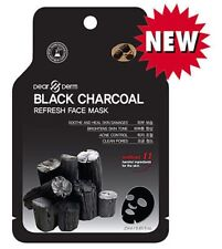 12 for $16 BLACK CHARCOAL REFRESH FACE MASK Sheets (23g) US SELLER