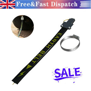 Car Safe Anti-Static Strip Earth Belt Ground Wire Strap Vehicle Safe Driving NEW
