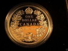 1911/2001 CANADA PROOF SILVER DOLLAR COIN w/ Box & COA