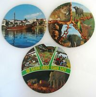 3 x AFRIKA KENIA Kenya Sonderformat Rundformat Postcards Postkarten Lot color AK