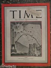 Time Magazine  September 4,1944  Paris WW II  VINTAGE ADS  Battle Of The Pacific