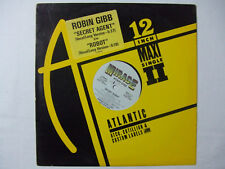 "Robin Gibb – Secret Agent / Robot - Disco Mix 12"" Vinile PROMO Stampa USA 1984"