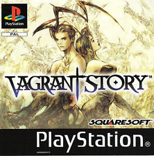 - Vagrant Story PS1 Front PAL Replacement Box Art Case Insert Cover Only
