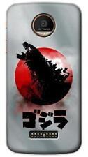 Godzilla Japan Flag Phone Case for Moto Z2 Z Force Play Plus G5 G5S G4 E4 C M Dr