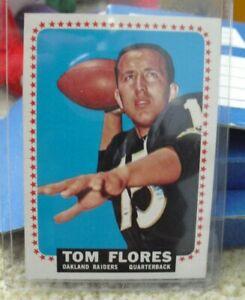 Vintage 1964 Topps Tom Flores Card #139 EX NrMt