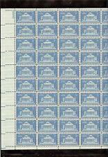 US MINT SHEET SCOTT#1029,3C STAMP COLUMBIA UNIV, 200 YEARS SHEET OF 50 MNH OG