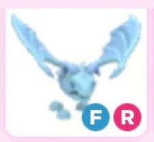 Fly Ride FR Frost Dragon  - (Pets Adopt me)