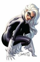 "Black Cat #1(RARE J Scott Campbell ""A"" Virgin Variant Cover, Marvel Comics)"