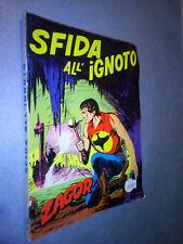 ZAGOR SCRITTA ROSSA N.63 SFIDA ALL'IGNOTO - BUONO (B2)
