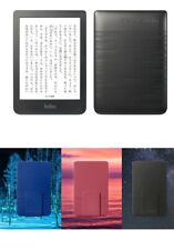 New! Kobo Clara HD eReader Wi-Fi, 6'' 8 GB [Black] - Bundle Sleep Cover 3 Colors