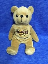 "Hard Rock Cafe Cayman Islands Bear Plush 8"" Stuffed Animal Isaac Beara Brown"