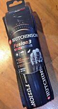 Hutchinson Fusion 3-PNEUMATICO TUBELESS ROAD NERO 700c x 23mm Pneumatico da corsa