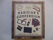 Magician's Compendium Containing Eight Amazing Tricks. New and Boxed & Unopened.