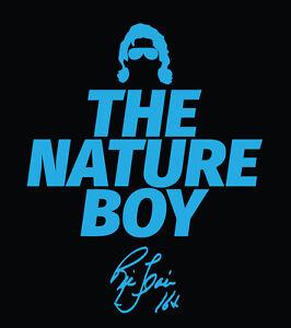 The Nature Boy Ric Flair signature shirt Four Horsemen GOAT WOOO 16x Wrestling