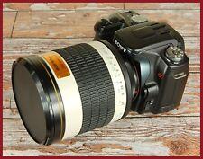POWERFUL Sony Alpha fit Fast Digital 500mm F6.3 Mirror Lens sport wildlife 800mm