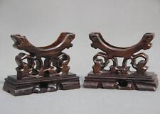 2pcs  good Handcraft Wood Stands for bangle, bracelet Display