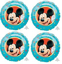 """4x counts 18"""" Mickey Mouse Foil Mylar Balloon Party Decoration"""