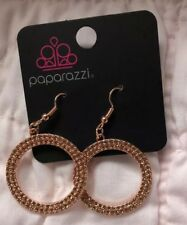paparazzi jewelry rose gold earrings