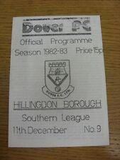 11/12/1982 dover V Hillingdon Borough. condizione: aspiriamo a controllare tutto