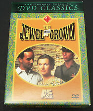 4 Disc BOXED DVD Set THE JEWEL in The CROWN A&E; no scratches on any disks