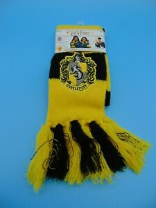✅ Brand NEW Harry Potter Hogwarts House Hufflepuff Deluxe Scarf