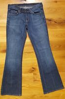 COH Citizens of Humanity Jeans Ingrid #002 Low Waist Boot Cut Stretch Size 28