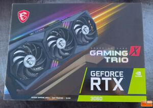 MSI GAMING X TRIO NVIDIA GeForce RTX 3060 12 GB Graphics Card, Fast Ship 🚚