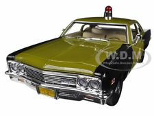 1966 CHEVROLET BISCAYNE MARYLAND STATE POLICE CAR 1/18 MODEL AUTOWORLD AMM1030