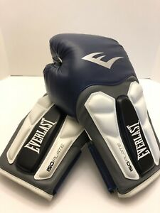 Everlast Prime Leather Boxing Gloves Blue Size 14 oz. New