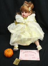 Fayzah Spanos Bella Cinderella Doll Signed Limited Edition 17/500 LN w/COA & Box