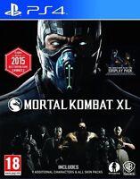MORTAL KOMBAT XL  PS4 NUEVO PRECINTADO TEXTOS EN CASTELLANO PS4