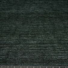 "Black Tassah Raw 100% Raw Silk Fabric, 54"" Wide, By The Yard (WT-217H)"