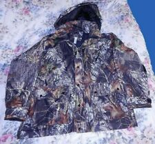 Game Winner Realtree Hunting Jacket XL Dura-Block Camouflage Camo Hooded