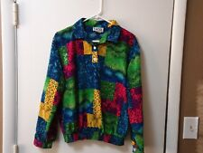 VINTAGE 90'S TEDDI SIZE SMALL WOMENS BLOUSE VERY NICE 100% POLYESTER S RETRO