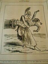 Typo 1883 Faire rentrer Cettiwayo dans un Canon