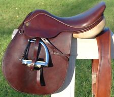 "COLLEGIATE 16-1/2"" 16.5"" English Saddle w/ FITTINGS~Close Contact~Hunter~Jump~NR"