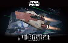 Bandai Star Wars 1/72 A-Wing Starfighter Building Kit Free Shipping