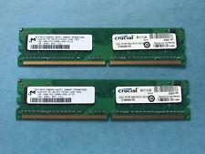 Crucial CT2KIT12864AC667 (2 GB, PC2-5300 (DDR2-667), DDR2 RAM, 667 MHz, SO...