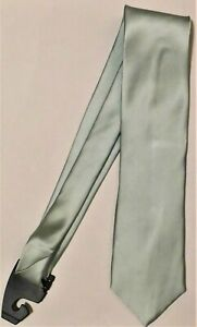 Donald J. Trump, Fully-Lined Aqua Green Tie, Shimmering  Fine Silk Fabric (T17)