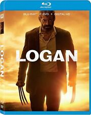Logan (Blu-ray/DVD, 2017, Includes Digital Copy) NEW