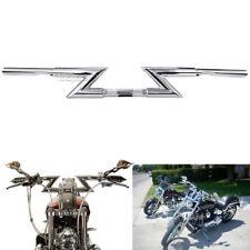 """Chrome 1"""" Drag Handlebar Z Bar for Suzuki Boulevard M109R C50T C90T M50 M90 S40"""