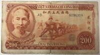 VIET NAM - 200 DONG (1951) - Billet de banque (B)