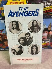 Vintage 1986 THE AVENGERS FORGET ME NOT (Color) Series Original VHS NEW Sealed