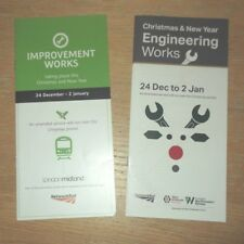 West Midlands franchise Christmas 2017 Engineering Work issued by two operators