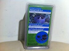 New Beckett 7207210 Container Garden Fountain Kit or Kitchen With 60-Gph Pump