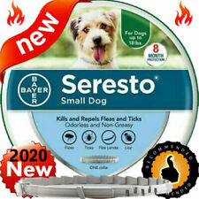 Bayer Seresto Flea and Tick Collar for Small Dog Up to 18lbs,8 Months Protection