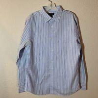Banana Republic Soft Slim Fit Mens Button Down Long Sleeve Shirt Size Large