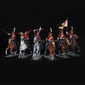 Tin soldiers, Set of Russian leib Cossack regiment, The Napoleonic Wars, 54 mm