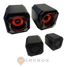 CASSE SPEAKERS OVBOOST ATOM CON MEMBRANE 2.0 USB OB2031 CORTEK